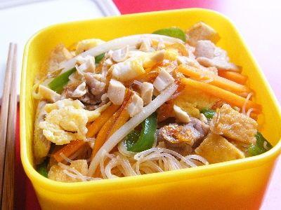 タイ風焼きそば(パッタイ)のお弁当