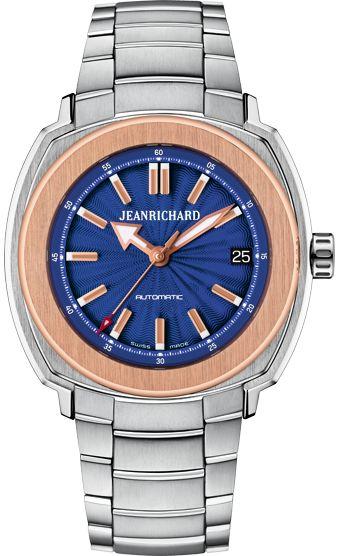 Blue Dial 39mm | JEANRICHARD