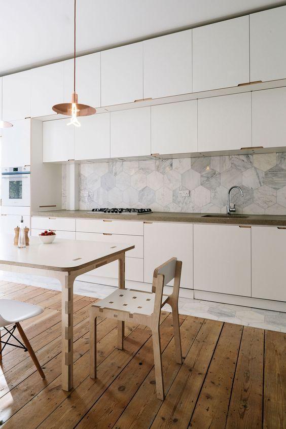 97 best Suelos de Cocina images on Pinterest   Kitchen floors ...