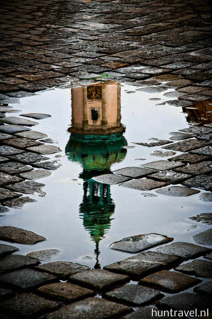 Sopron in spiegelbeeld