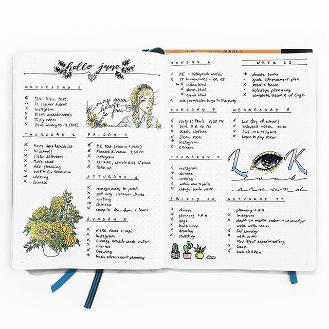 dagbok handskrift kalender