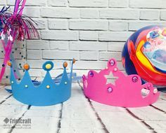 kids craft foam crown tutorial with free printable template vbs