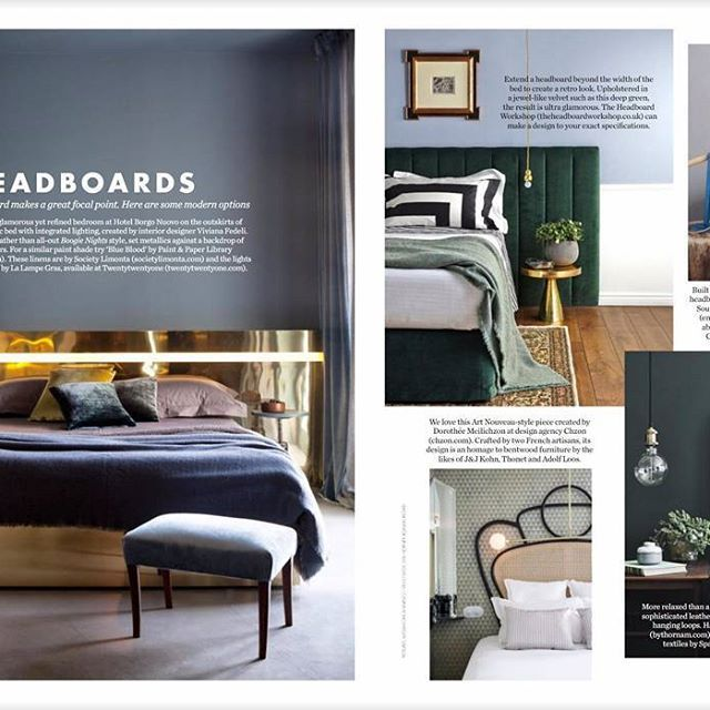 """ELLE DECORATION UK calls THE M HEADBOARD BY THORNAM: """"Smooth and sophisticated"""". We tend to agree:) Check it out at www.bythornam.com #them #headboard #leather #design #madeindenmark #bedroom #slowliving #furniture #interiordesign #homedecor #hotel #sleep #relax #weekend #chill"""