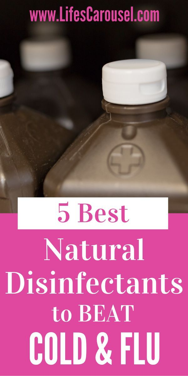 5 Best Natural Disinfectants to Kill Cold & Flu Germs