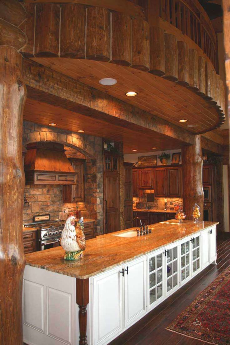 31 Best My New Log Home Kitchen Images On Pinterest
