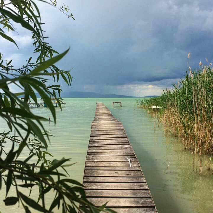 Balaton lake. Hungary