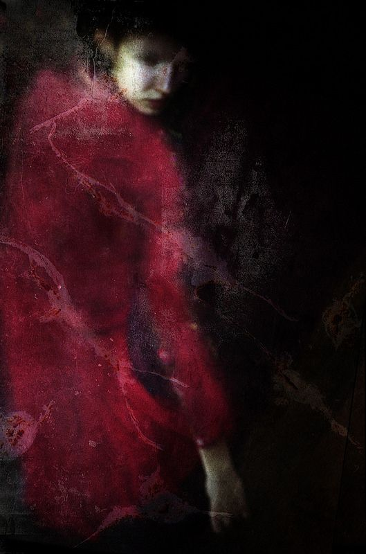 """...she moved about in a mental cloud of many-coloured idealities, which eclipsed all sinister contingencies by its brightness."" ~ Thomas Hardy, Tess of the D'Urbervilles (1891) / Image: Katia Chausheva"