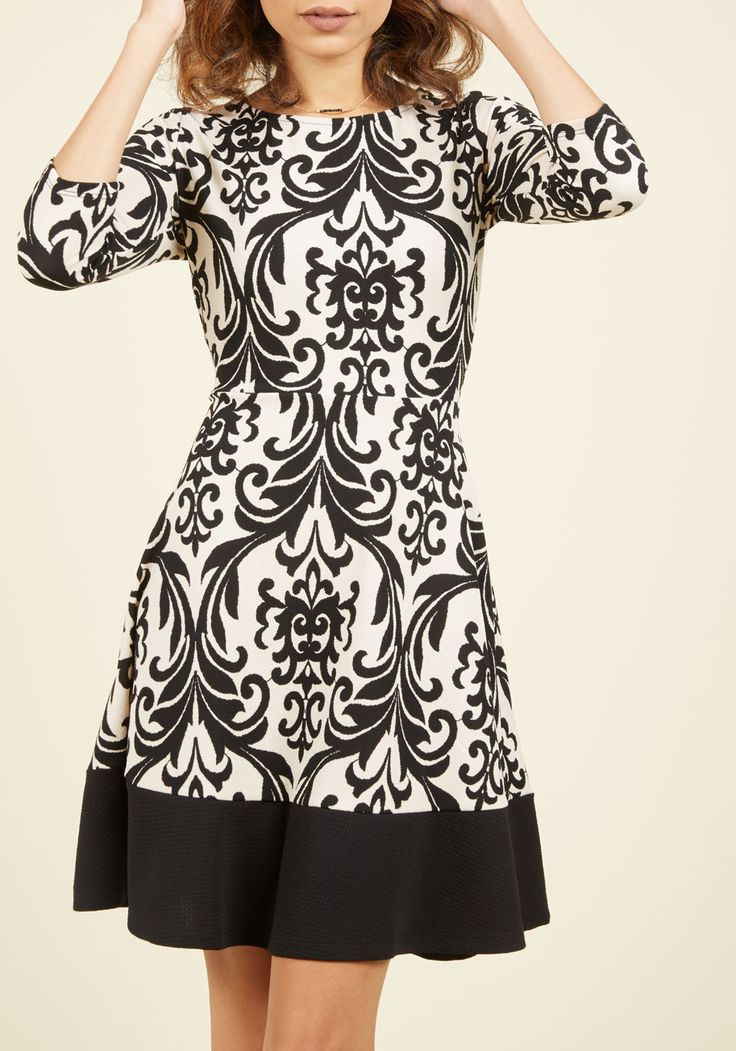 fun patterned party dress