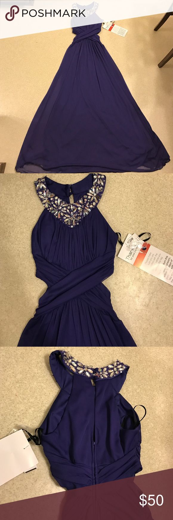 Prom dress Color : Dark purple B. Smart Dresses Maxi