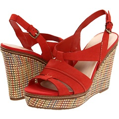 Give your attire an exotic break with this striking sandal from AK Anne Klein™.: And Anne, Red Wedges, Fab Fashion, Cravings Red, Wedges Sandals, Fashion Finding, Tagu Red, Klein Tagu, Anne Klein