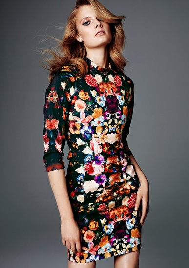 H  & M: Fashion Dresses, Flower Dresses, Glamour Collection, Flower Prints, Little Black Dresses, Consciousness Collection, Floral Dresses, Exclusively Consciousness, Red Carpets Dresses