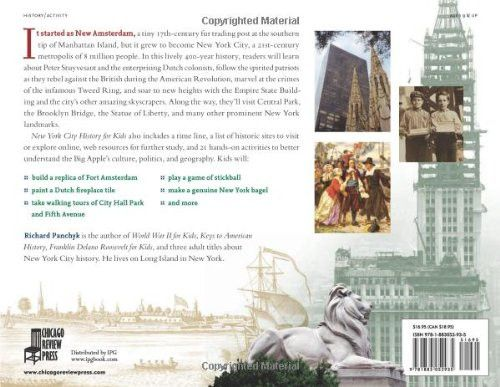 New York City History for Kids: From New Amsterdam to the Big Apple with 21 Activities (For Kids ser