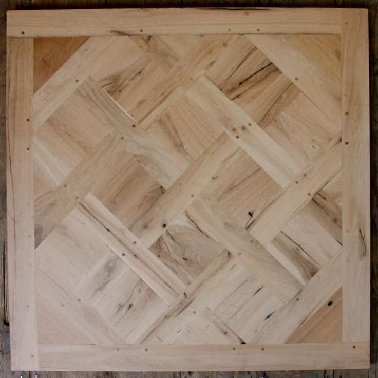 Stunning versailles parquet flooring panels made up from for Oak wood flooring for sale