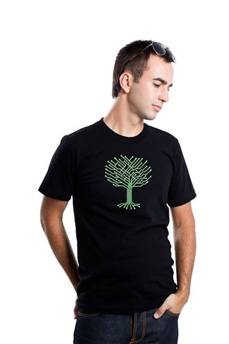 elec-tree, circuit, T-shirt, shirt, arbre, electronique, tree, board, electronic, reseau, network, electric, system, trees, racine, binaire,...