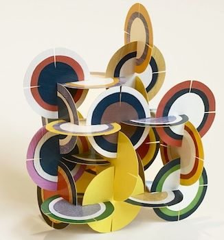 Disk sculpture