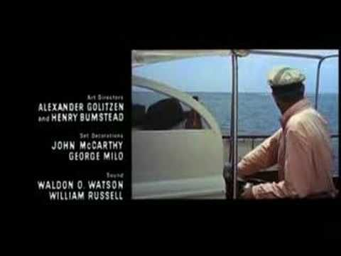 Pass Me By by Digby Wolfe - Father Goose Opening Credits