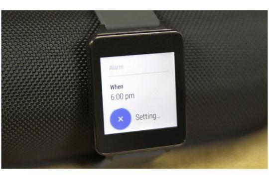 How To Set Alarm - LG G Watch. #LG #gwatch