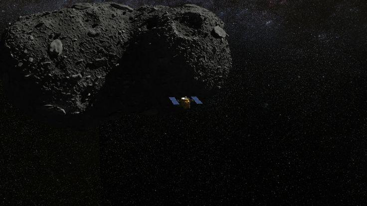 Asteroid mining probe