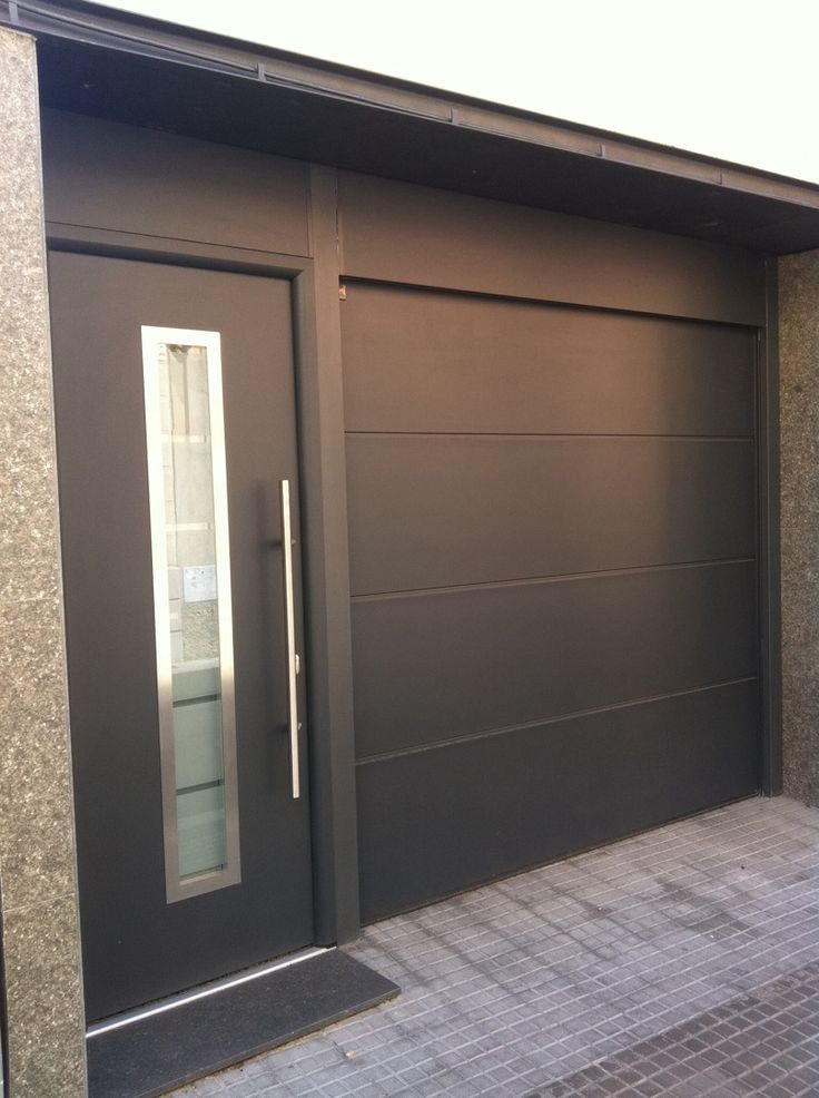 Las 25 mejores ideas sobre puertas garaje en pinterest y for Puertas de entrada modernas precios
