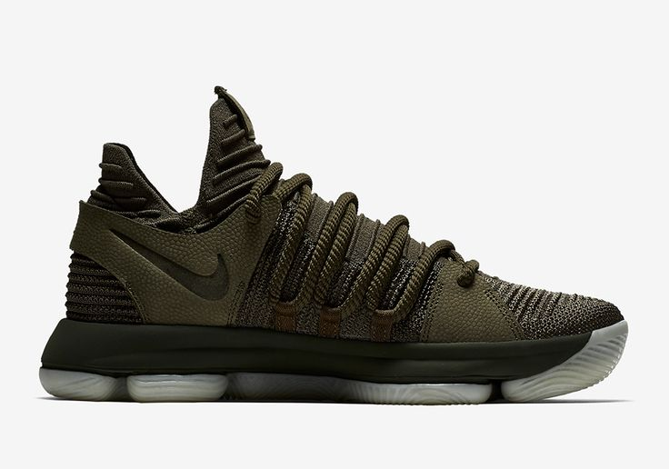 NikeLab transforms the KD 10 into a premium lifestyle offering with the Nike KD 10 NL EP Olive (Style Code: 943298-900) coming Summer 2017. More: