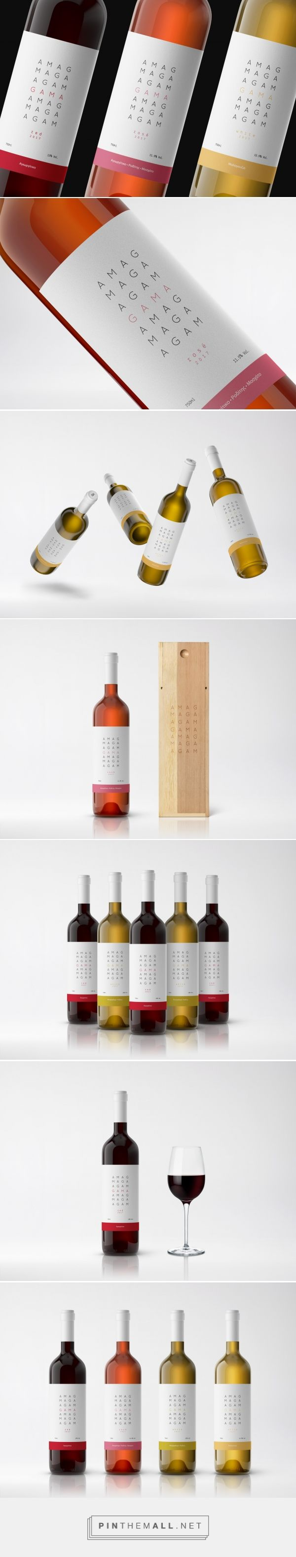 GAMA Wines - Packaging of the World - Creative Package Design Gallery - http://www.packagingoftheworld.com/2017/08/gama-wines.html