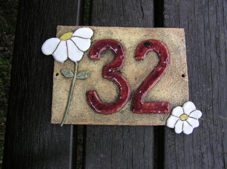 best 25 ceramic house numbers ideas on pinterest tile. Black Bedroom Furniture Sets. Home Design Ideas