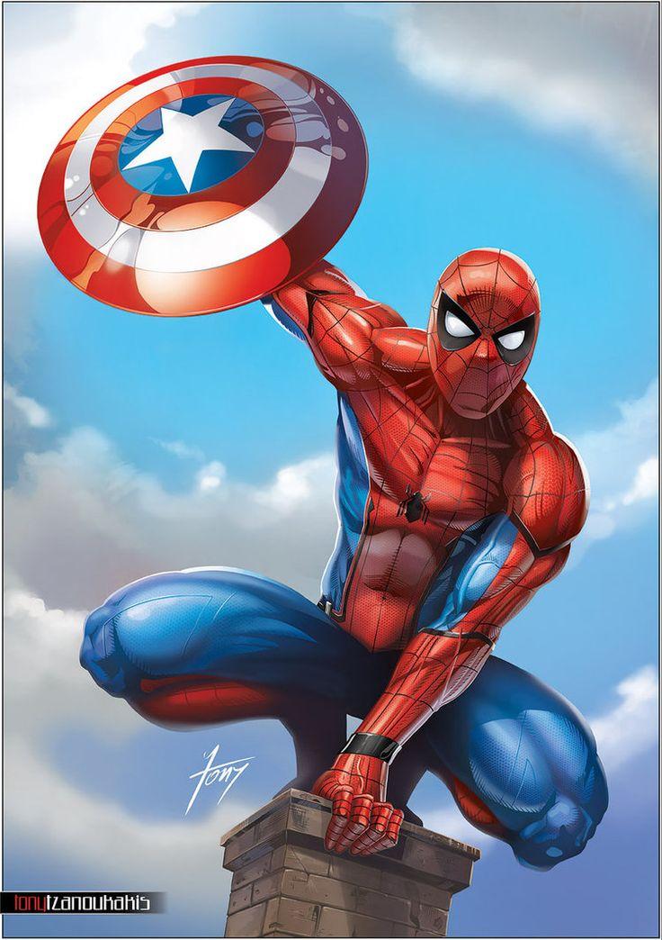 77 best dessin images on pinterest marvel comics marvel - Dessin spiderman ...