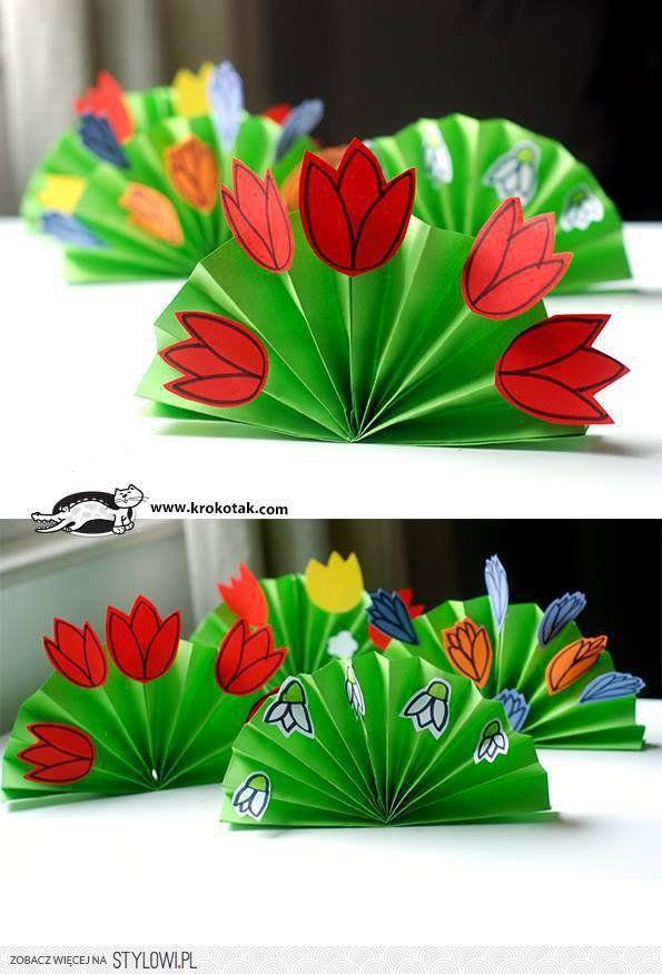 """Tulipány nebo sněženky na """"harmonice"""""""