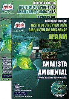 Apostila Concurso Instituto de Proteção Ambiental do Amazonas - IPAAM / 2014:  - Cargo: Analista Ambiental (comum todas áreas de formação)