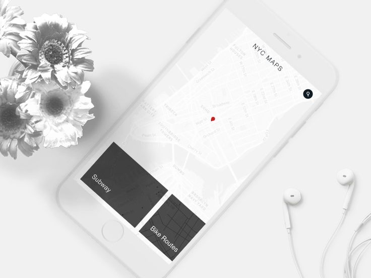 Daily UI Day 29 Map