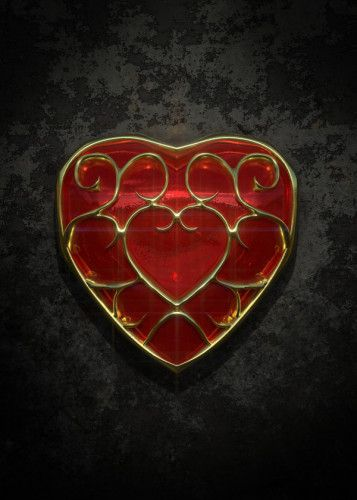 Heart Container, displate metal canvas for sale… #displate… #siriusreno #zelda