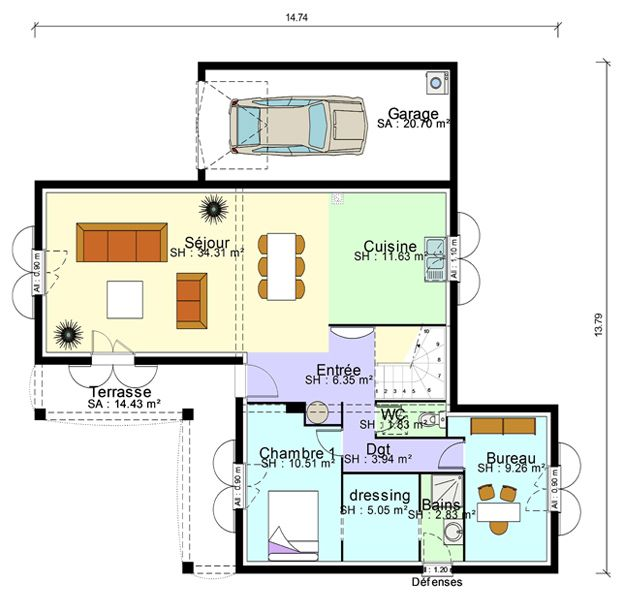 17 best ideas about plan suite parentale on pinterest - Salle d eau suite parentale ...
