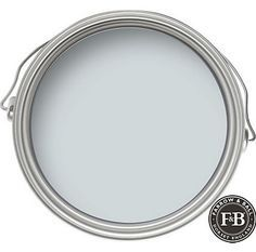 """FARROW & BALL: Borrowed Light 235 Dubbed the """"perfect"""" light blue, Borrowed Light is named after the much desired extra illumination that evokes the summer sky. It works as well in rooms deprived of natural light as an airy light filled sunroom. Gorgeous in spa like bathrooms, soothing bedrooms, and a hands down favorite on …"""