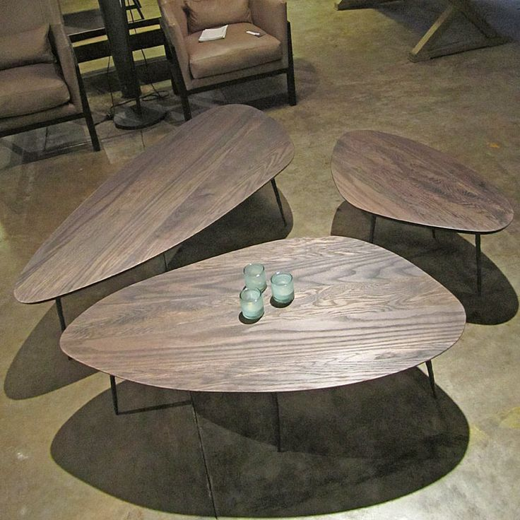 Elegant Pebble Coffee Tables