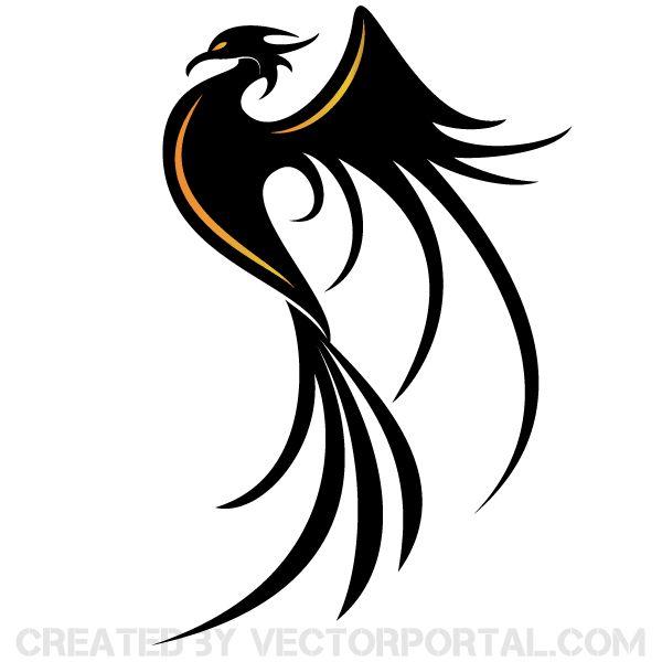 Phoenix Bird Vector Art
