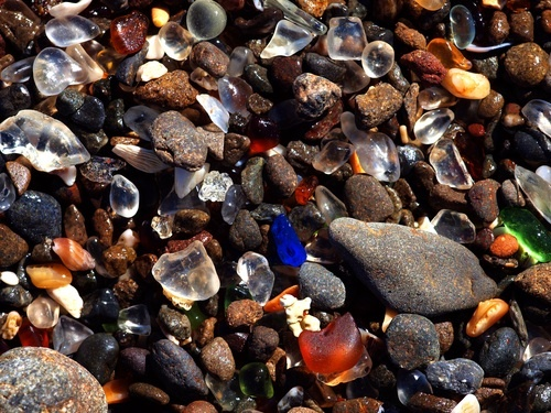 20 places every California kid should see, glass beach