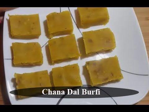 How to Make Chana Dal Burfi    Pakistani/ Indian Sweet Recipe in Urdu/Hindi