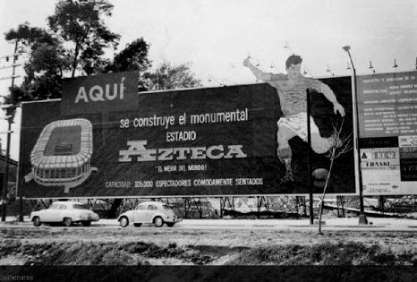 Una nueva casa... El Estadio Azteca!!  El América ya era campeón pero necesitaba su propio estadio. Sueño que se hizo realidad cuando Emilio Azcárraga Milmo anunciaba la construcción de un estadio con capacidad para 100 mil aficionados.  En 1962 se colocó la primera piedra en Santa Úrsula, Coapa, el arquitecto fue Pedro Ramírez Vázquez. Cuatro años duró la construcción del mayor y mejor estadio de México.
