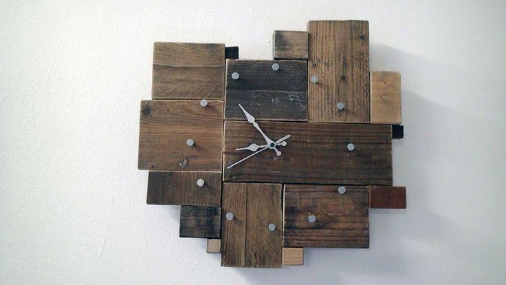 Orologio da parete in legno.  di The Wood Vibes su DaWanda.com