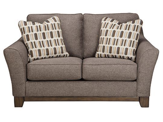 Janley   Slate   Loveseat By Signature Design By Ashley. Get Your Janley    Slate   Loveseat At Furniture Factory Outlet, Warsaw IN Furniture Store.