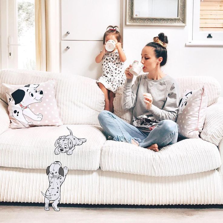 Saturday afternoons spent sipping tea and watching some mischievous pups! : @Masha_theone #DisneyXCathKidston