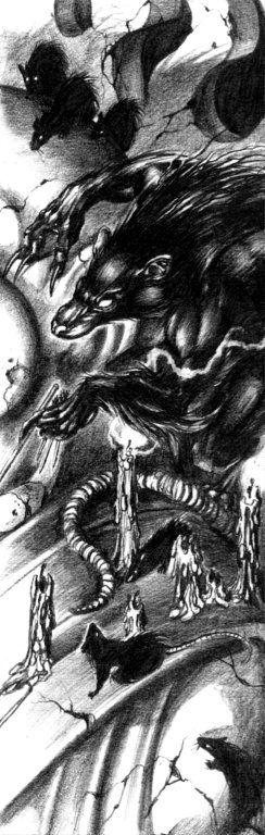 White Wolf, World of Darkness, Ron Spencer.