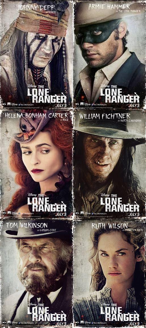 The Lone Ranger NEW Trailer!  #TheLoneRanger