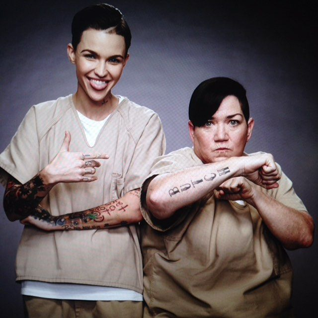 Orange is the New Black - Ruby Rose and Lea DeLaria