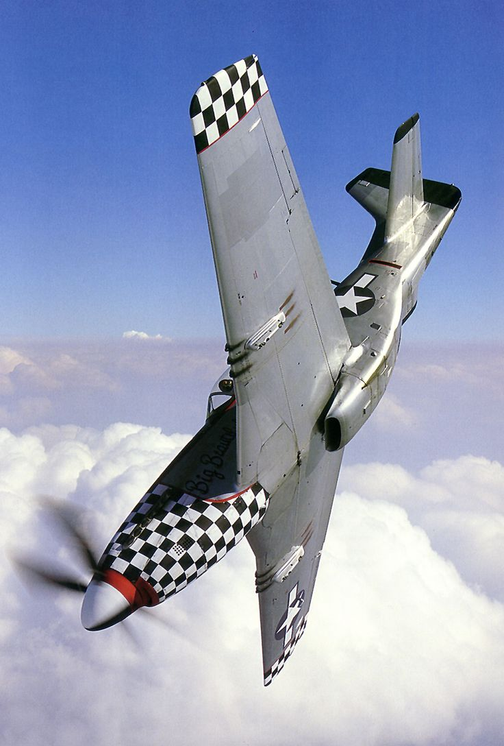 P-51 Mustang in a dive. My Blogs: Beautiful Warbirds The Test Pilots P-38 Lightning Nasa History Science Fiction World Fantasy Literature & Art