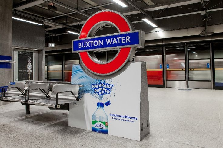 Buxton Water: TFL sponsorship deal saw Canada Water renamed after the brand
