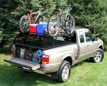 1997-2014 Ford F-150 Tonneau Cover Racks - Hauler Racks STR070-1FS - Hauler Racks Tonneau Rack