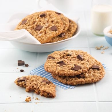 Biscuits aux pépites de chocolat faibles en calories - Recettes - Cuisine et nutrition - Pratico Pratique