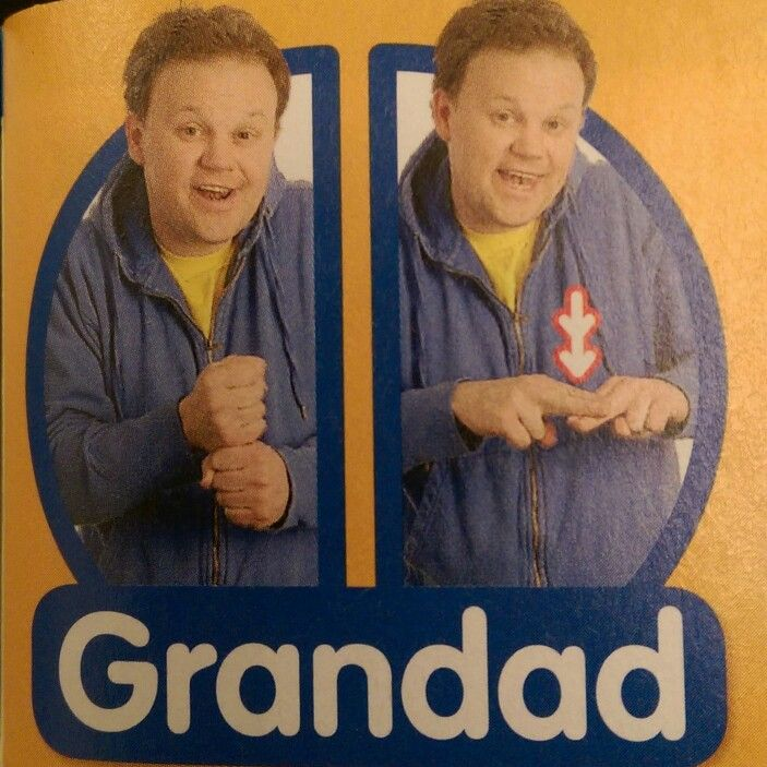 Grandad - Makaton / Sign / Mr Tumble / Something Special
