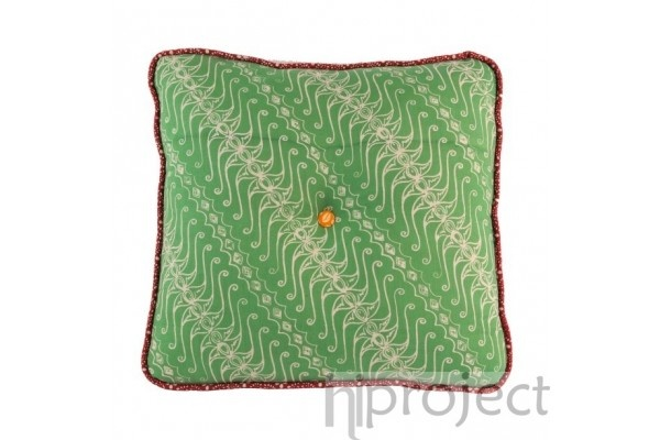 Bantal Exclusive Untuk Interior Anda Green Batik Cushion